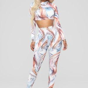 Fashion Nova Story Rain Set